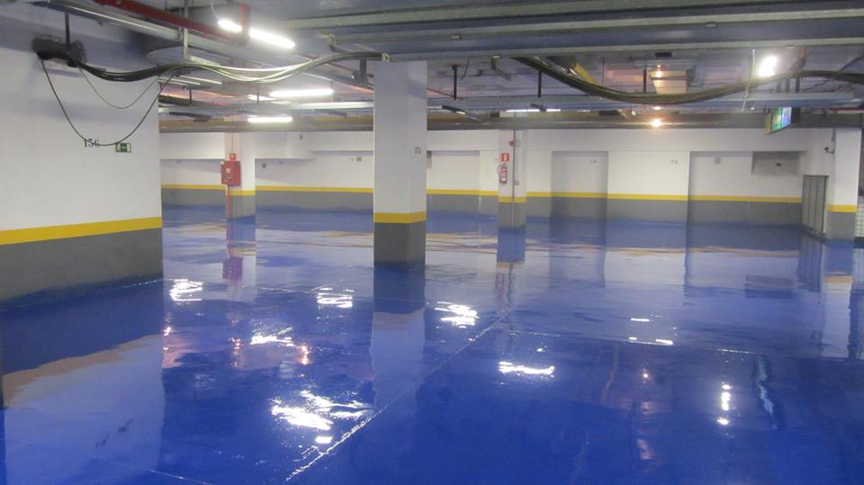 Revetement sol en epoxy